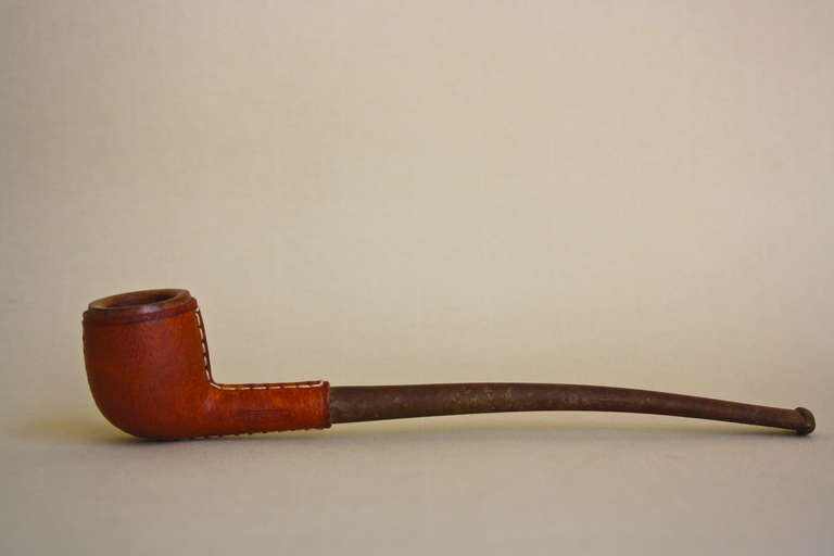Great piece of smoking luxury. Designed by Carl Aubock and made in his small Vienna workshop.