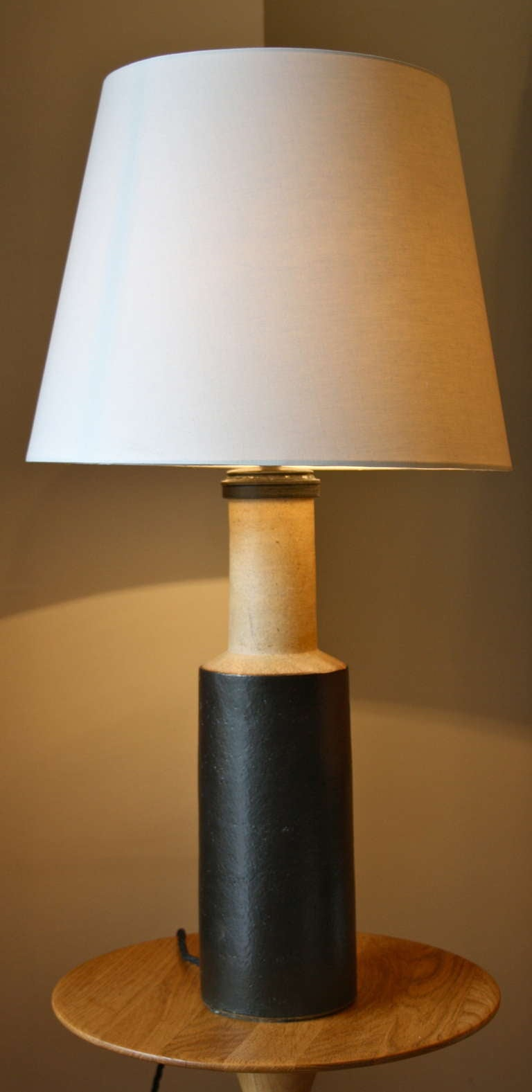 Stoneware Table Light By Herman Kaehler At 1stdibs