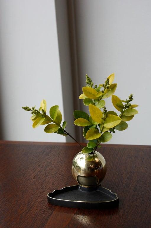 Sculptural Vase & Penholder by Carl Aubock image 3