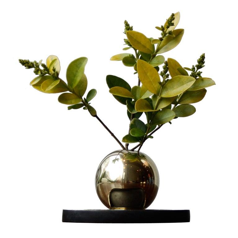 Sculptural Vase & Penholder by Carl Aubock