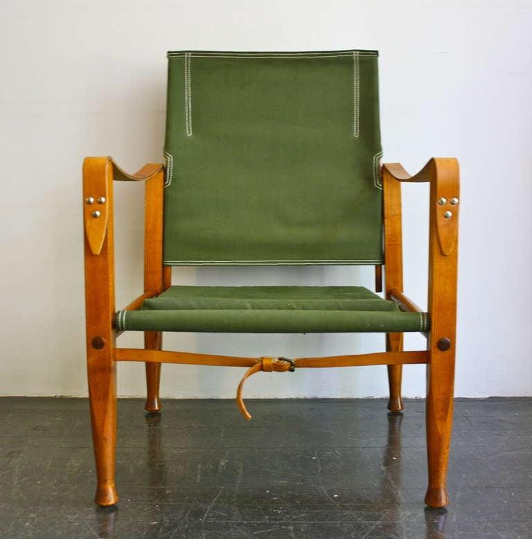 Safari Chair by Kaare Klint at 1stdibs
