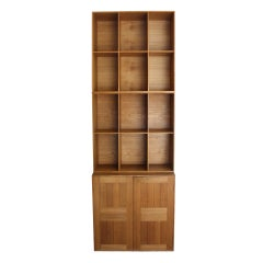 Solid Oak Cabinet and Bookcases by Mogens Koch