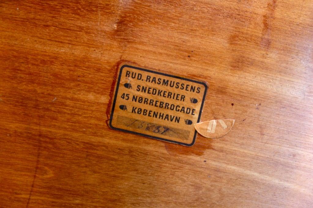 20th Century Kaare Klint Cuban Mahogany Coffee Table For Sale