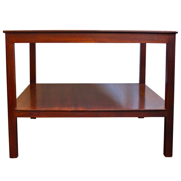 Kaare Klint Cuban Mahogany Coffee Table For Sale