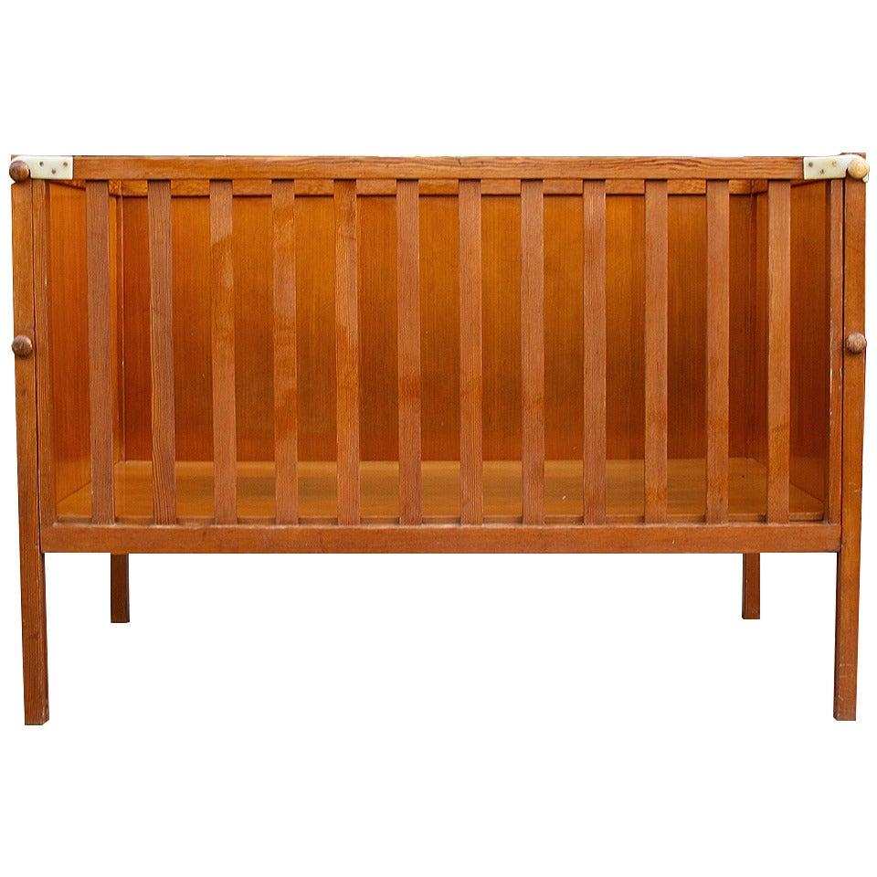 Crib for sale san diego - Nanna Ditzel Oregon Pine Crib 1