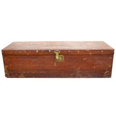 Lieut. H Irving Graham's 1st WW Travel Chest