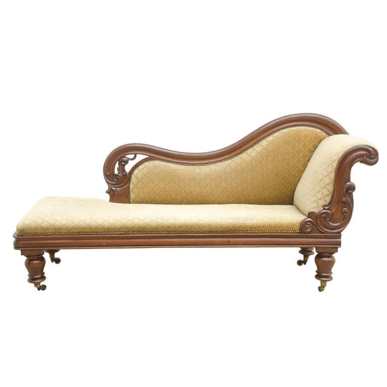 chaise longue louis philippe at 1stdibs