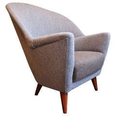 Large Wing Chair by Nanna Ditzel