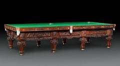 The History of Australia Billiard Table