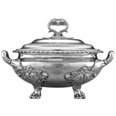 Paul Storr Silver Soup Tureen