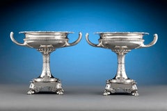 Paul Storr Silver Dessert Compotes