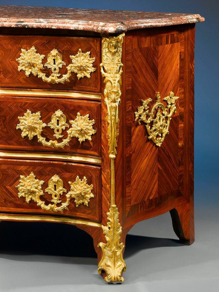 rare arbalete commode by francois garnier at 1stdibs. Black Bedroom Furniture Sets. Home Design Ideas