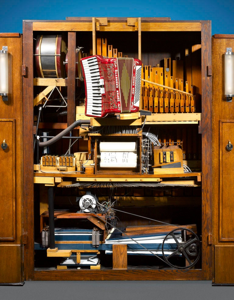 Arburo Orchestrion Organ by Bursens and Roels In Excellent Condition For Sale In New Orleans, LA