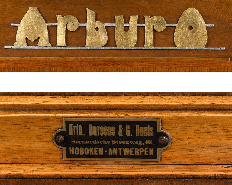 Arburo Orchestrion Organ by Bursens and Roels For Sale 1
