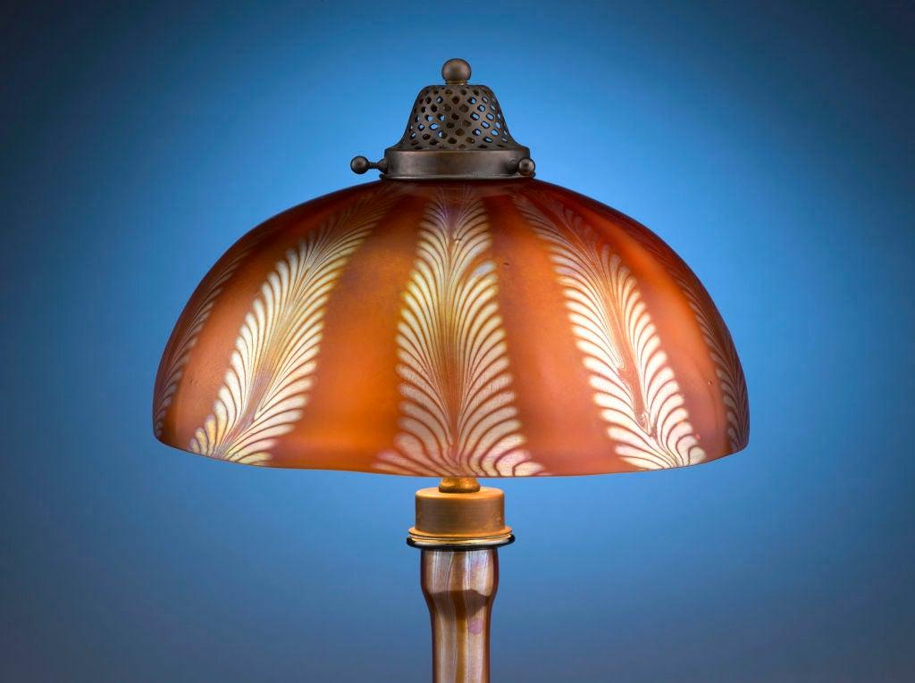 Tiffany Studios Favrile Table Lamp 2