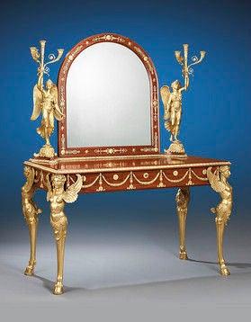 Egyptian King Farouk Empire Bedroom Suite 4
