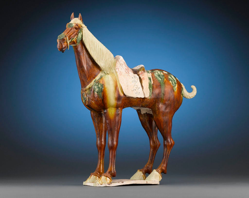 Horse Decor For The Home Tang Dynasty Funerary Ferghana Horse At 1stdibs