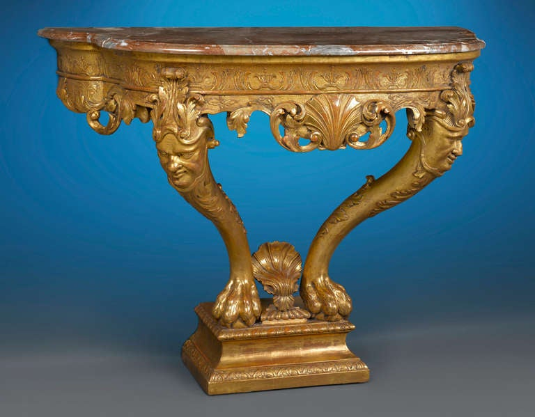 English George I Console Table For Sale