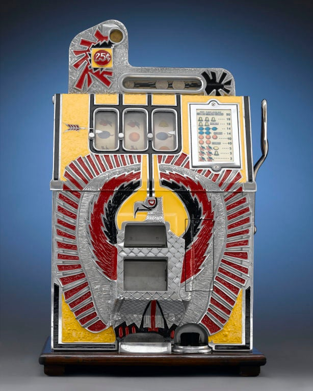 Mills War Eagle Quarter Slot Machine At 1stdibs