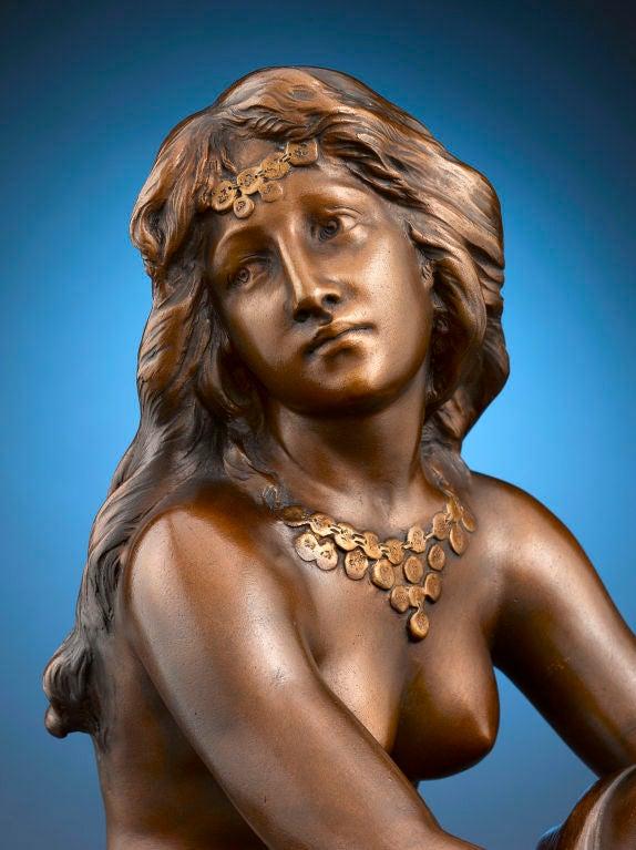 Art Nouveau Terra Cotta Nude 5