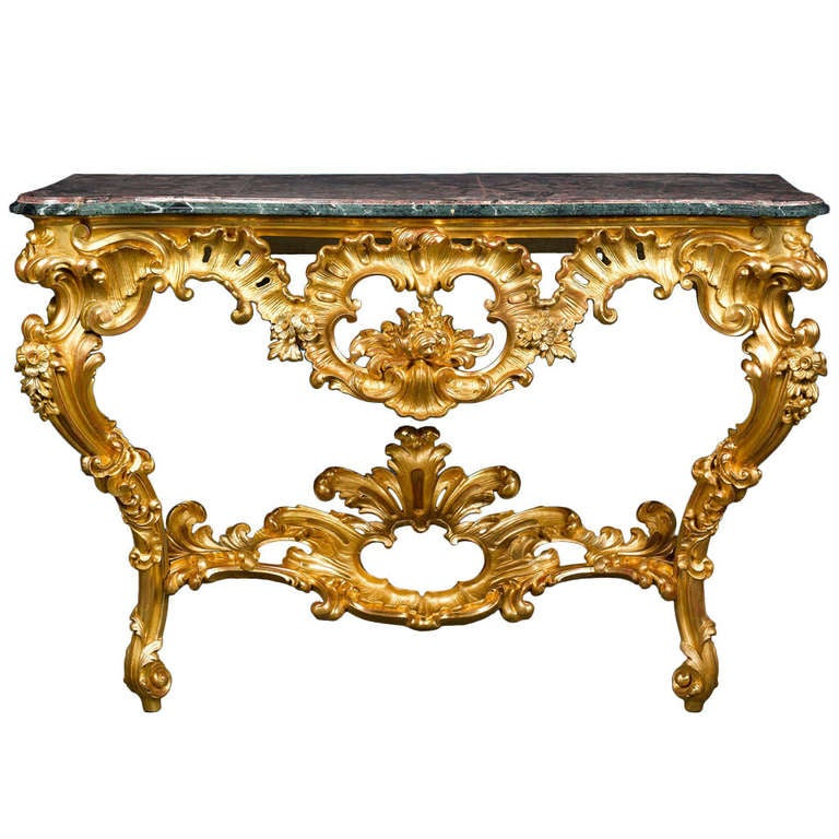 Louis xv period console table for sale at 1stdibs - Table louis xv ...
