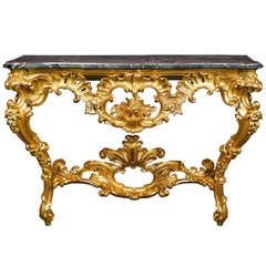 Louis XV Period Console Table