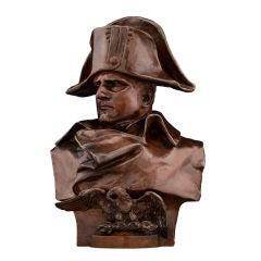 Bronze Bust of Napoleon by Renzo Colombo