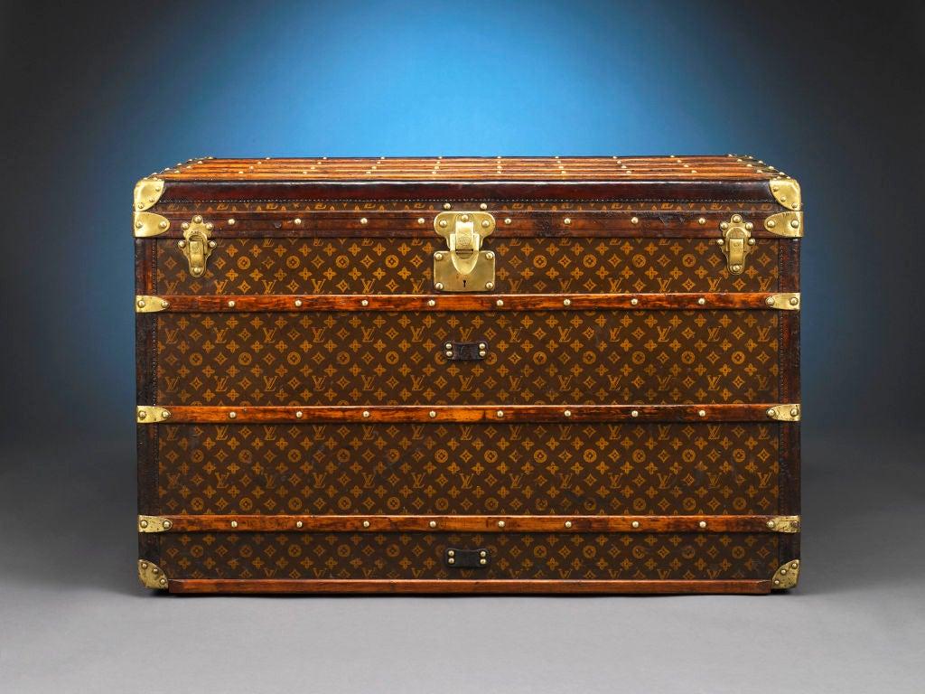 Louis Vuitton Steamer Trunk 2