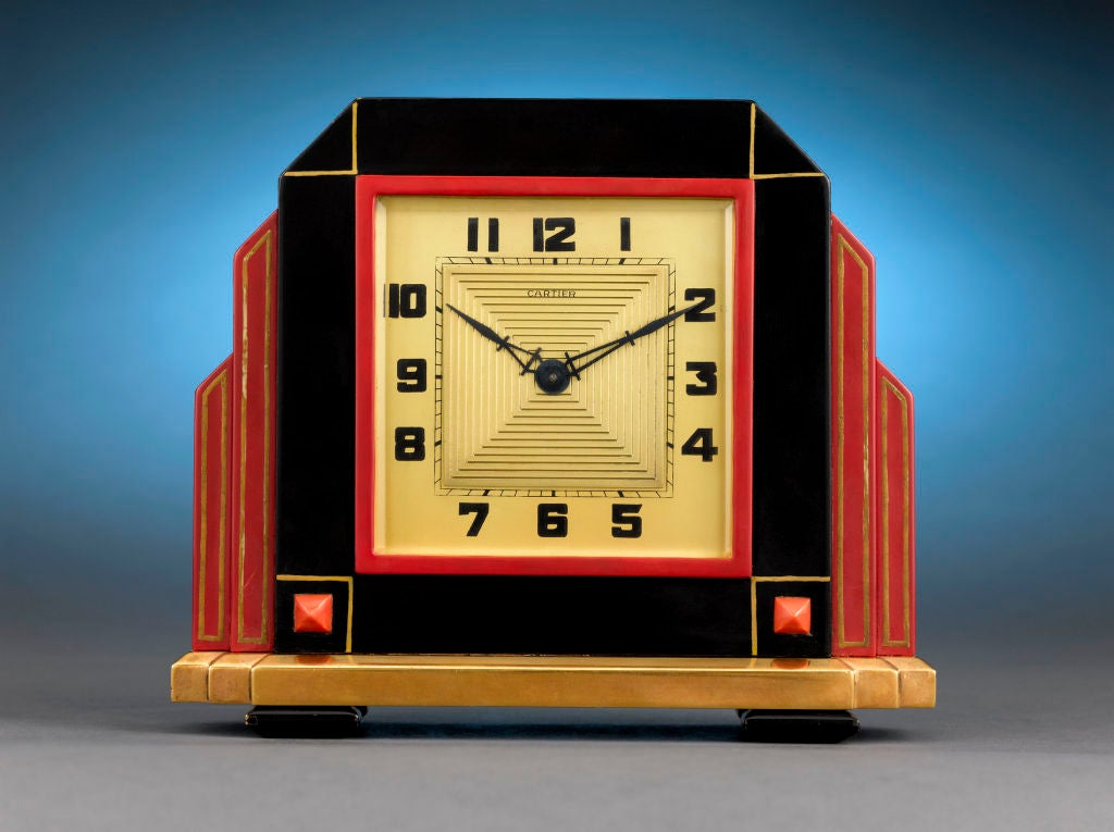 Art Deco Cartier Clock image 2