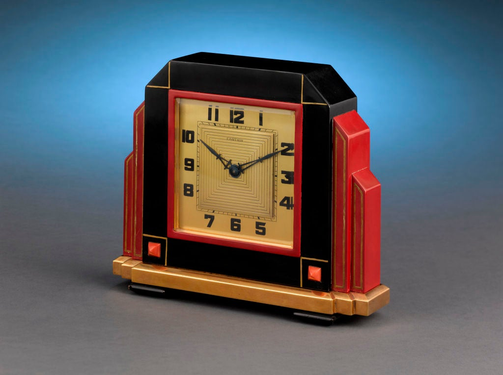 Art Deco Cartier Clock image 3