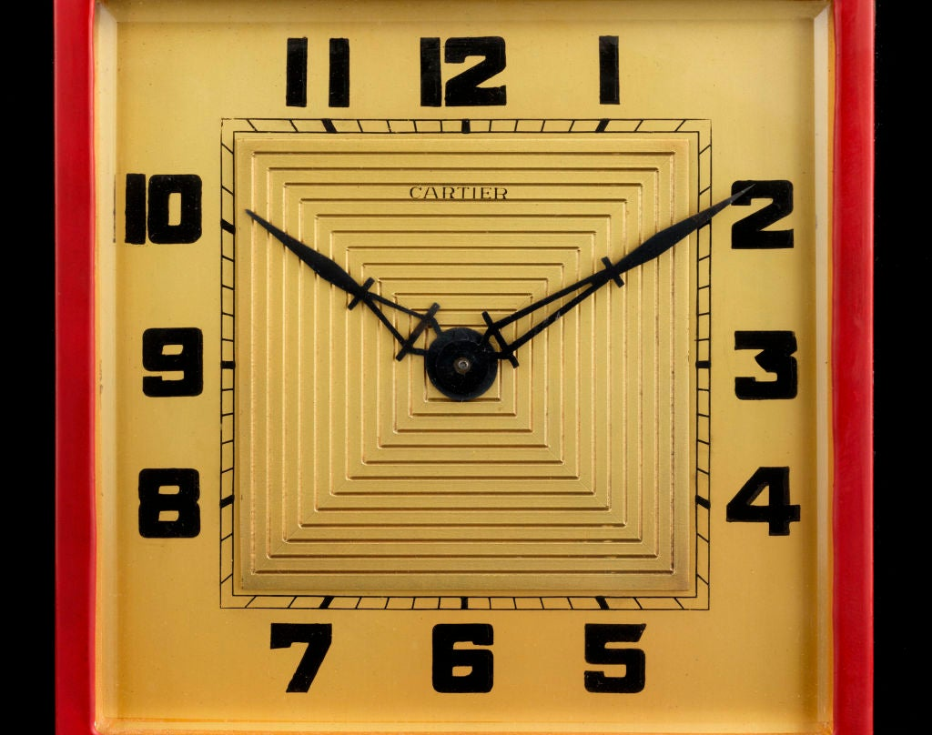 Art Deco Cartier Clock image 4