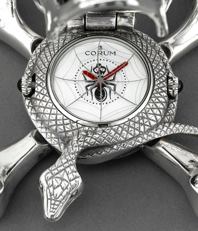 Corum Skull Clock In Excellent Condition In New Orleans, LA