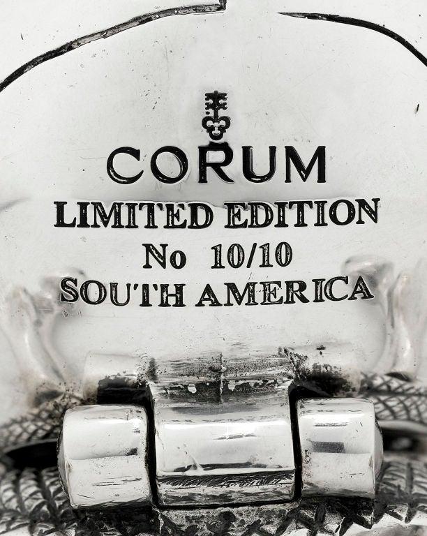 Contemporary Corum Skull Clock