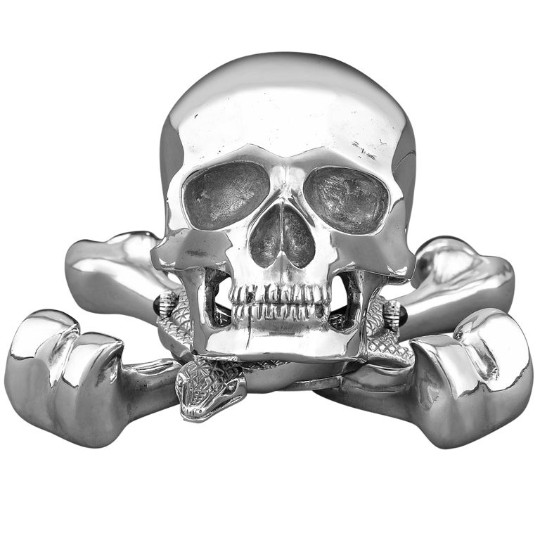 Corum Skull Clock