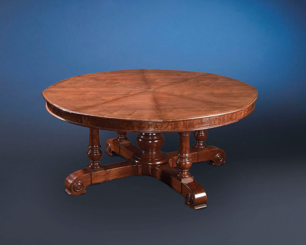 Round Dining Table By Robert Jupe At 1stdibs