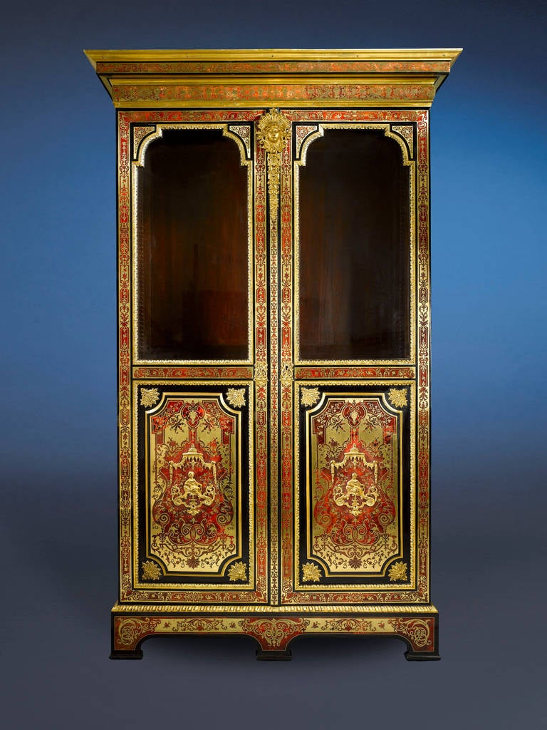 The marquetry technique perfected by master ébéniste André-Charles Boulle in the 17th century inspired the most gifted cabinetmakers of his time to embrace this remarkable craft so much so that the process now bears his name. This incredible