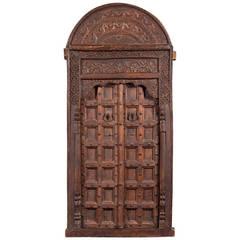 Moroccan Cedar Door, 16th Century