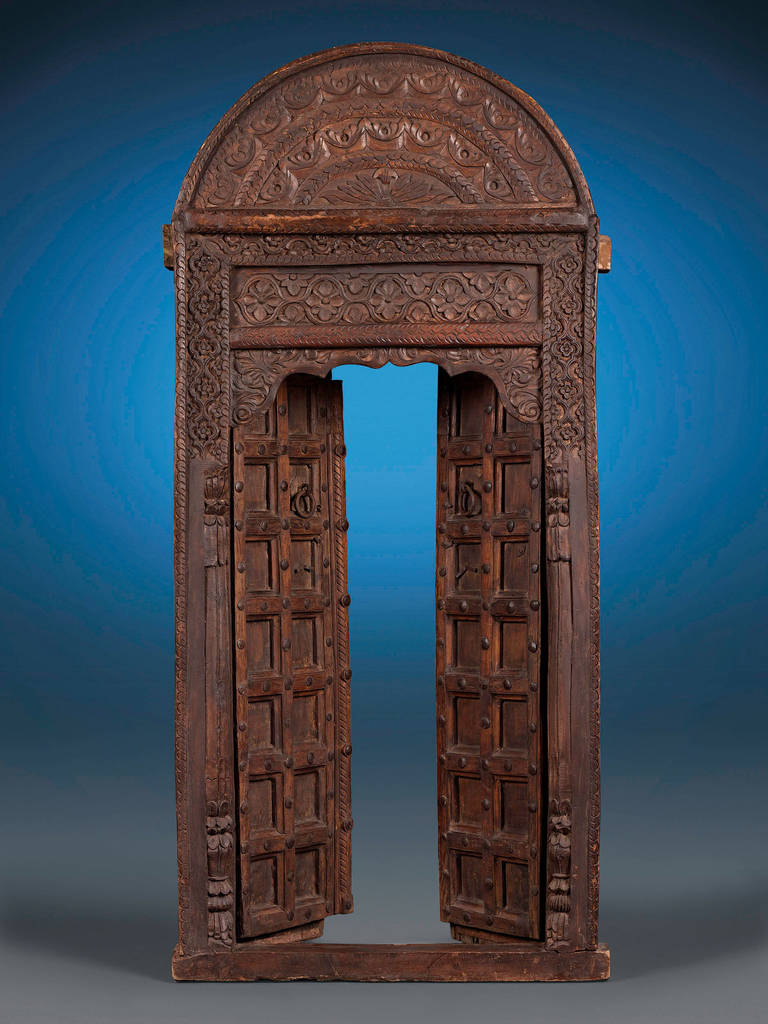 Moroccan Cedar Door 16th Century At 1stdibs