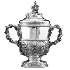 George II Silver Cup and Cover by Francis Nelme