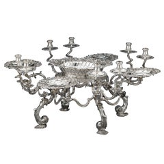 Important George II Silver Epergne