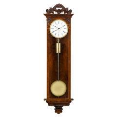 Biedermeier Thirty-Day Regulator Clock
