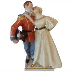 Royal Copenhagen Double Figurine