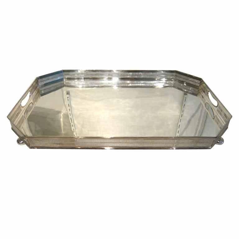 Large English Silver Plated Gallery Tray at 1stdibs : 8917129660882010 from 1stdibs.com size 768 x 768 jpeg 20kB
