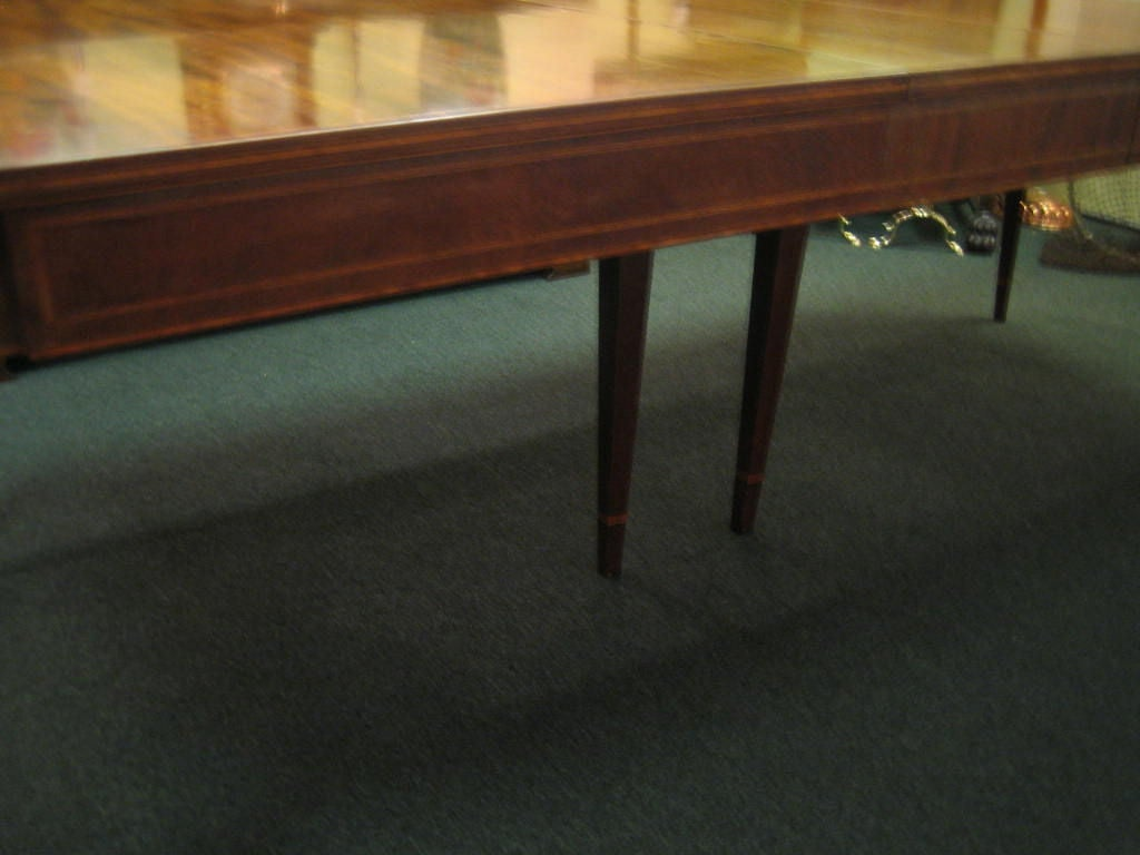 mahogany dining room table at 1stdibs