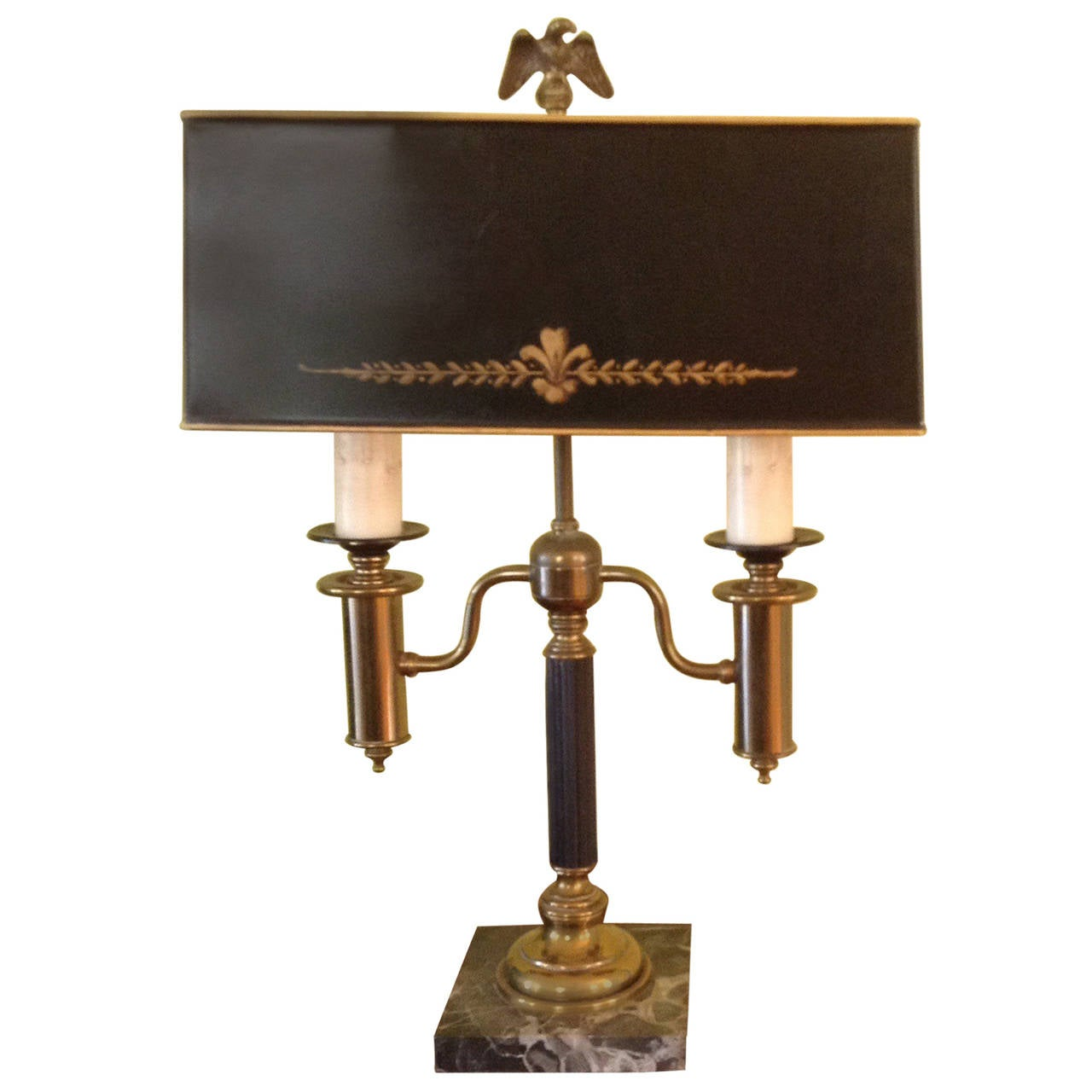 French Style Bouillette Desk Lamp At 1stdibs