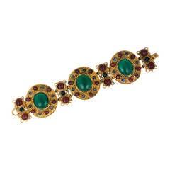 Chanel Byzantine Link Bracelet, Maison Gripoix