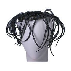 Hattie Carnegie Organza Octopus evening hat