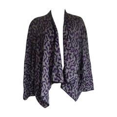 Kimono Inspired Warm Sweater Coat Size 10