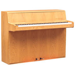 Danish Modern 1960s Oak Piano by Andreas Christensen