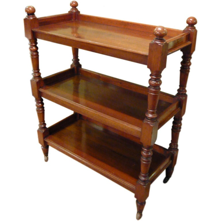 English victorian three tier buffet at 1stdibs for Sideboard lindholm